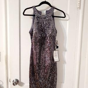 R & M Richard's sequin dress.